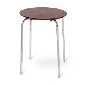 Herman Stool Chrome Red Brown 8월 중순 입고