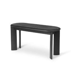 Bevel Bench Black Oiled Oak 8월 중순 입고