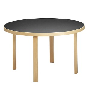 Aalto Table 91 Black/Birch  주문후 2~3개월 소요