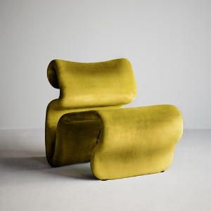 Etcetera Easy Chair Turmeric Yellow