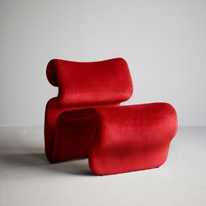 Etcetera Easy Chair Chili Red