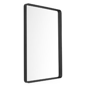 Norm Wall Mirror Rectangular Black 현 재고