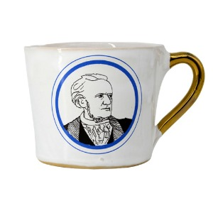 Alice Medium Coffee Cup  Richard Wagner