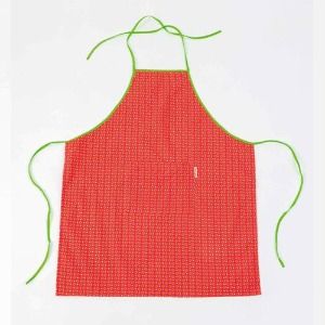Adult Kitchen Apron Cereal Tangerine