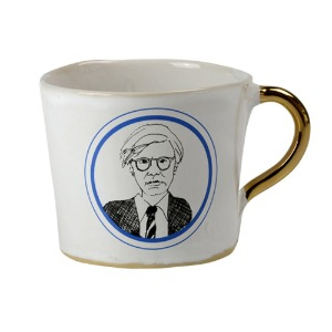 Alice Medium Coffee Cup  Andy Warhol