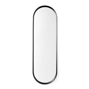 Norm Wall Mirror Oval Black 12월말 입고