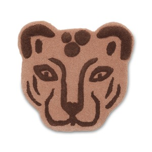 Tufted Leopard Head Brown  현 재고