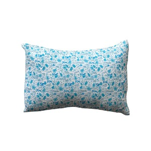 Cushion cover 30x40cm Blue Flower