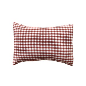 Cushion cover 30x40cm Dark Old Orange Gingham