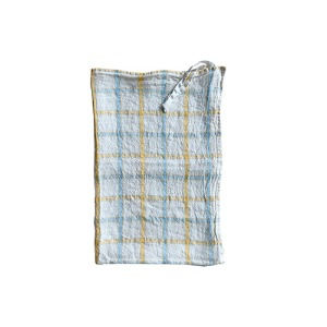 Dish Towel Yellow Blue
