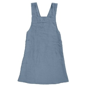 Japanese Apron Adult Blue Grey