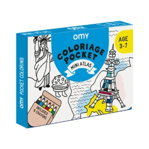 Coloring Pocket Mini Atlas