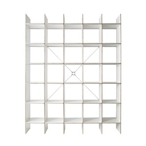 FNP Shelf System White 5x5