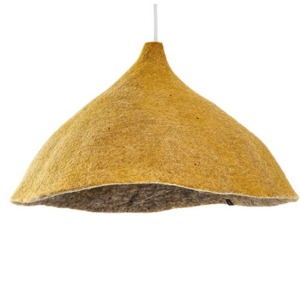 Reversible lampshade W Light Stone/Pollen