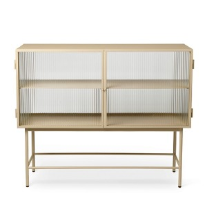 Haze Sideboard Reeded Glass Cashmere 3월 초 입고