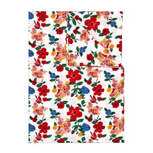Duvet Cover Hibiscus Single