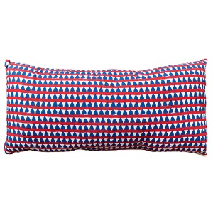 Cushion With Filler Big Triangles