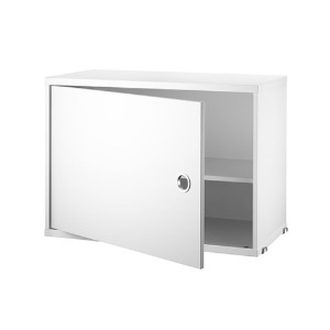 Cabinet with Swing Door White  4월 초 입고