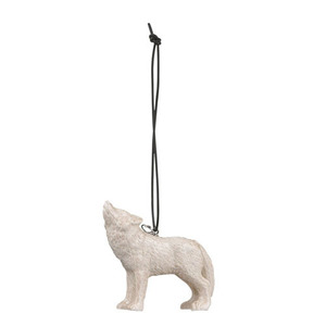 Ornament wolf beige (30% sale)