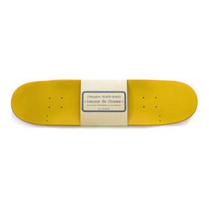 Skateboard rack - yellow