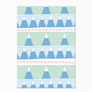 Mountain Blue Postcard