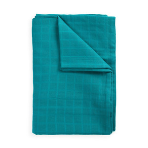 Nappy fabric duvet cover set-turquoise (30% sale)