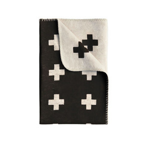 Cross Blanket black