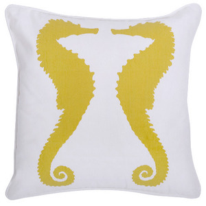 Seahorse Outdoor Pillow (30% sale)