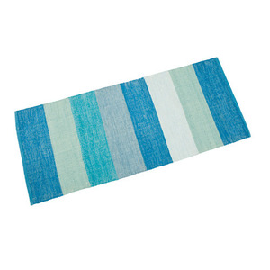 blue stripe mat