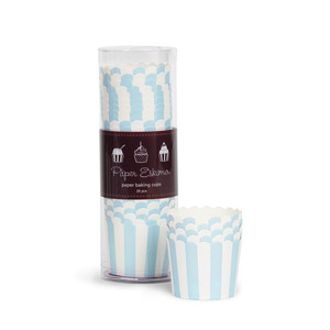 Baking Cup Powder Blue [1+1]