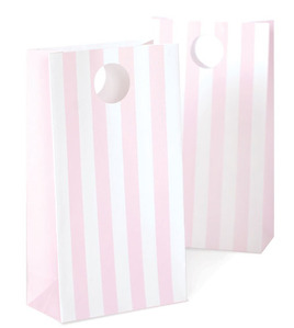 Party Bags Marshmellow Pink
