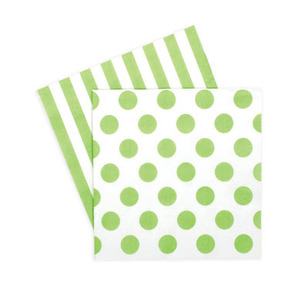 Paper Napkins Apple Green