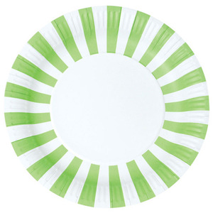 Paper Plates Apple Green [1+1]