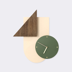 Wall Wonder Clock - Rose