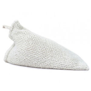 [예약배송]NEST knitted bean bag - white