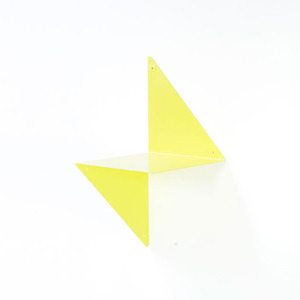 3D modular metal shelf -yellow sale