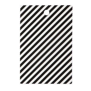 Black Stripe Cutting Board (50% sale)