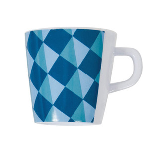 Cup graphic blue