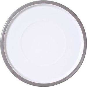 Plate large 28cm pearl grey