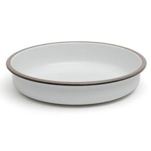 Salad bowl 28cm pearl grey