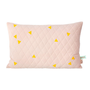 Teepee Quilted Cushion Rose (30% sale)