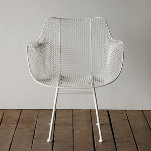 Biscayne Armchair  White