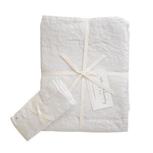 Nolita Duvet Set Single Blanc[단추형]