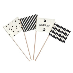 Hurray Flags set of 4