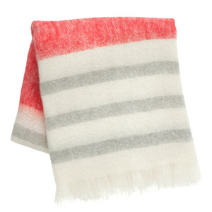 Mohair Throw Red (30% sale)