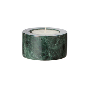 Marble Candleholder Tea light Green