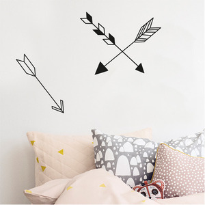 Arrow Wallsticker Black