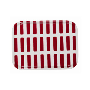 Tray Small Siena Red