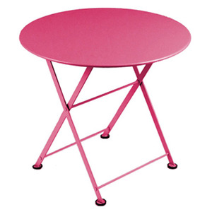 Tom Pouce Low table Ø 55cm Fuchsia