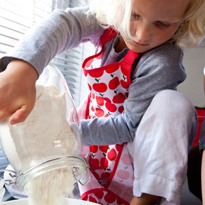 kids apron(apple)
